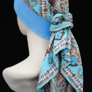 Head scarves for cancer