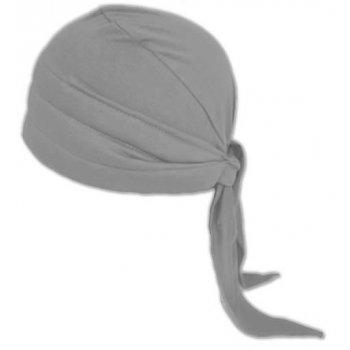 3 Seams Padded Bandana In Grey Lightweight 100% Cotton Jersey