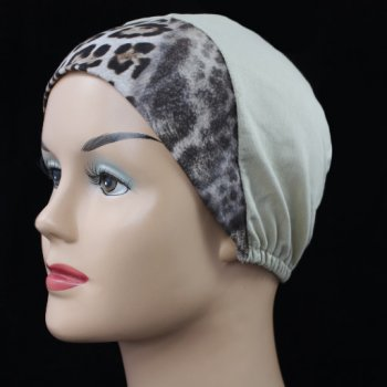 Animal Print With Oatmeal Light Jersey Cap