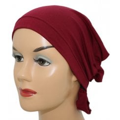 Bamboo Katie Scarf in Vino Red