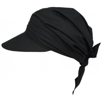 Black Visor Hat