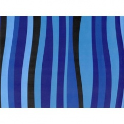 Blue Waves Gift Wrap