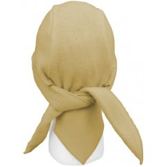 Camel Fleece Hi-Fashion Tie Bandana