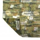 Chiffon Wrap Scarf In Shades Of Khaki
