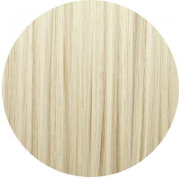 Clip In Neat Cut  Fringe - 60 Bleach Blonde
