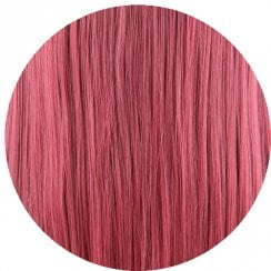 Clip In Neat Cut Fringe - A39 Wine Red