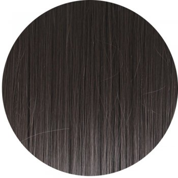 Clip In Straight Fringe - 2 Darkest Brown