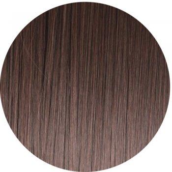 Clip In Straight Fringe - 2T33 Dark Brown/Auburn