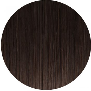 Clip In Straight Fringe - 4 Dark Brown