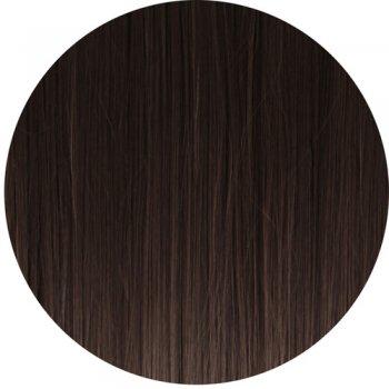 Clip In Straight Fringe - 4 Dark Brown
