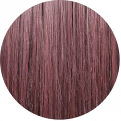 Clip In Straight Fringe - 99J Dark Wine Red