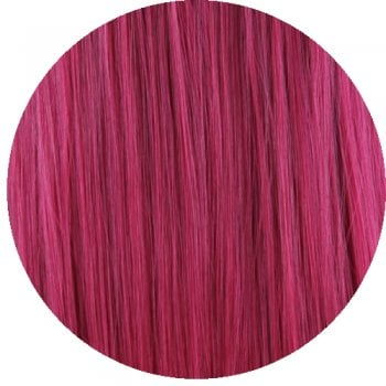 Clip In Straight Fringe - B39 Purple Cherry