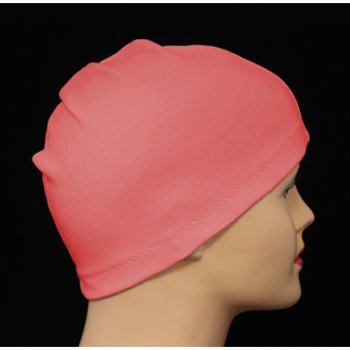 Coral 100% Cotton Jersey Head Cap
