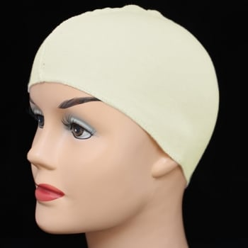 Cream Cotton Wig Liner