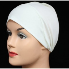 Cream Light Jersey Cap