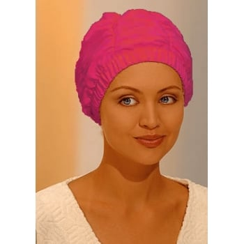 Deluxe Pink Shower Cap By Fashy