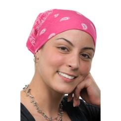 Bandanas for Cancer Patients