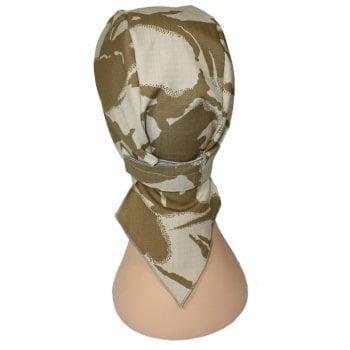 Digital Desert Camouflage Deluxe No Tie Bandana