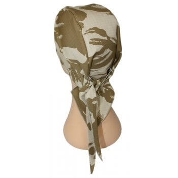 Digital Desert Camouflage Large Tie Bandana