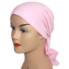 Easy Tie Bandana Pink 100% Cotton Jersey