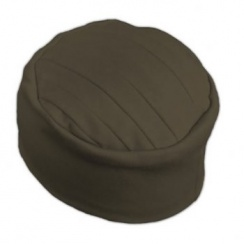 Elegant Brown Turban Hat 100% Cotton Jersey
