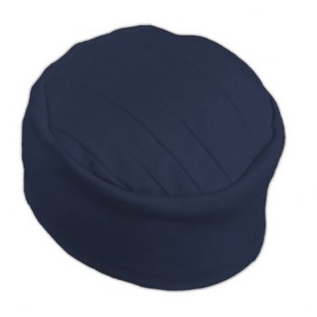 Elegant Navy Turban Hat 100% Cotton Jersey