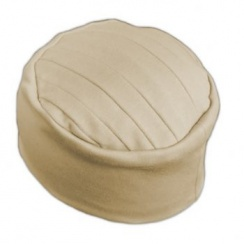 Elegant Tan Turban Hat 100% Cotton Jersey