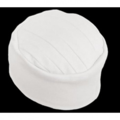 Elegant White Turban Hat 100% Cotton Jersey