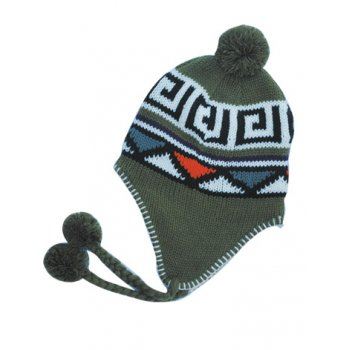 Green Nepal Thermal Beanie Hat