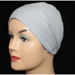 Grey Light Jersey Cap