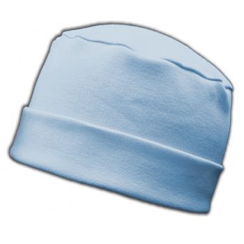 Large Cosy Hat Sky 100% Cotton Jersey