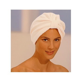 Luxurious Towelling Turban Cream