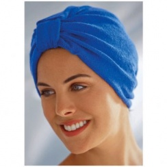 Luxurious Towelling Turban Royal