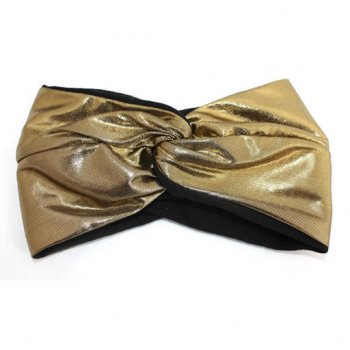 Metallic Gold Twist Wrap