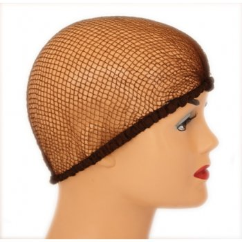 Mid Brown Nylon Hair Net