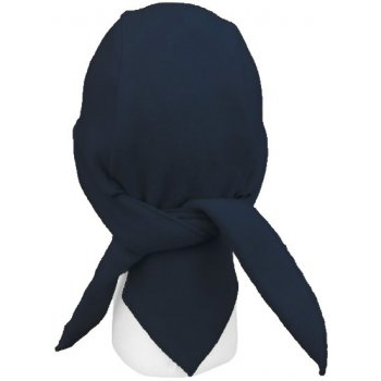 Navy Blue Fleece Hi-Fashion Tie Bandana