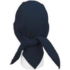 Navy Petite/Child Fleece Tie Bandana