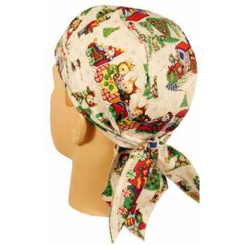 Night Before Christmas Hi-Fashion Tie Bandana