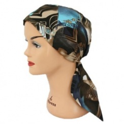 Ocean Kenya Padded Cotton Head Tie Scarf