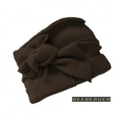 Paris Wool Hat In Dark Brown