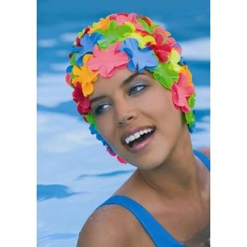 Petal Swim Cap Multicoloured
