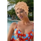 Petal Swim Cap Peach