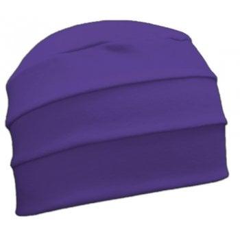 Petite Baby Purple 3 Seam Hat/Turban in 100% Cotton Jersey