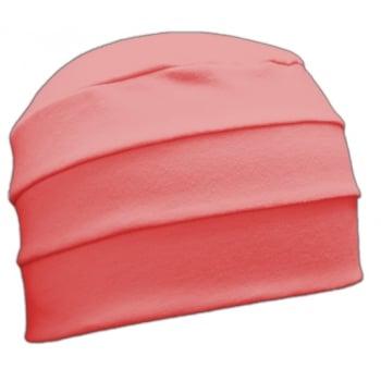 Petite Coral 3 Seam Hat/Turban in 100% Cotton Jersey