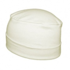 Petite Cosy Hat In Cream 100% Cotton Jersey