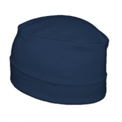 Petite Cosy Hat In Navy 100% Cotton Jersey