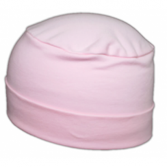 Petite Cosy Hat In Pink 100% Cotton Jersey