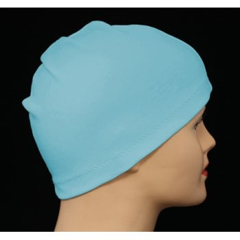 Petite Duck Egg Blue 100% Cotton Jersey Head Cap