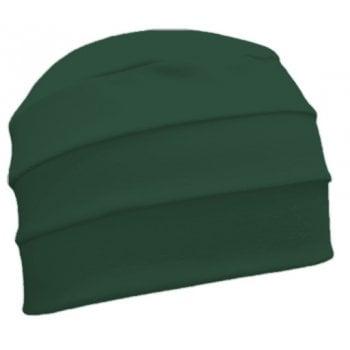 Petite Green 3 Seam Hat/Turban in 100% Cotton Jersey