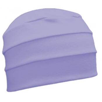Petite Lilac 3 Seam Hat/Turban in 100% Cotton Jersey